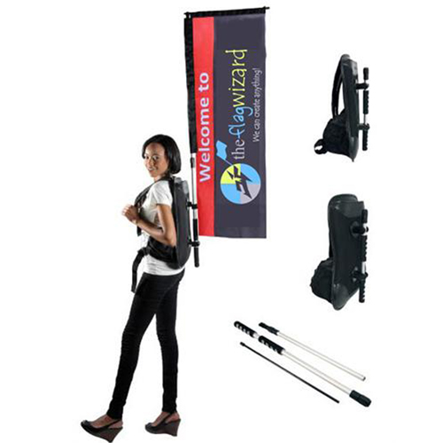 Promotional and Event Use Straight Walking Banner