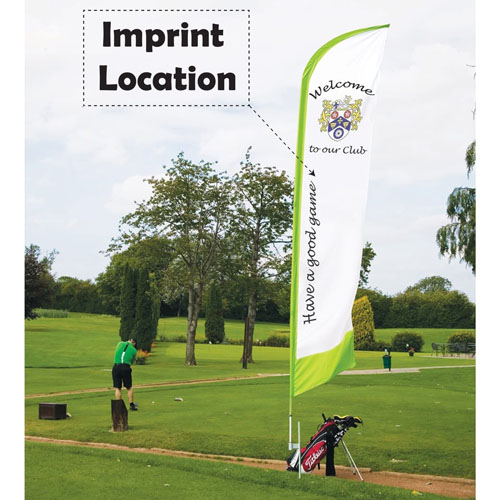 Ground Pike for Promotional Flag Pole Imprint Image