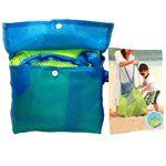 Foldable Children Mesh Collection Bag