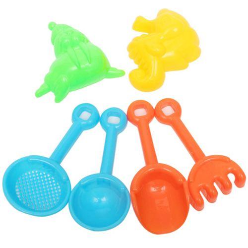 Sand Water Beach 7 Piece Bucket Toys Image 2