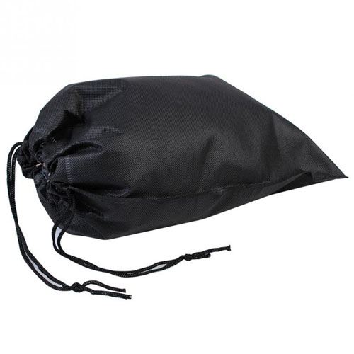 Fabric Travel Drawstring Closure Shoe Bag Image 2