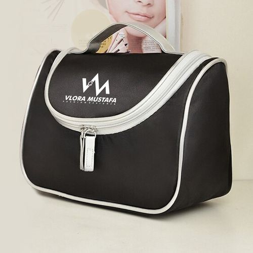 Fashion Designer Womens Cosmetic Toiletry Bag Image 4