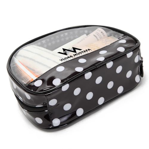 Transparent Waterproof Women Cosmetics Bag Image 2