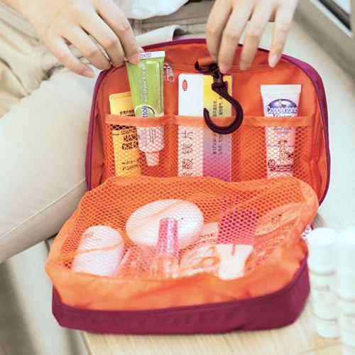 Travel Necessary Toiletry Hanging Bag Image 4