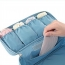 Waterproof Travel Bra Underwear Lingerie Cosmetic Bag Image 1
