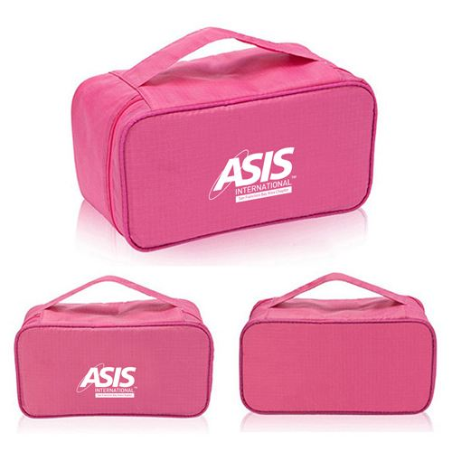 New Fashion Multifunction Travel Underwear Toiletry Bag Image 2