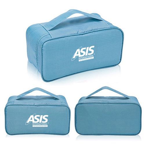 New Fashion Multifunction Travel Underwear Toiletry Bag Image 4