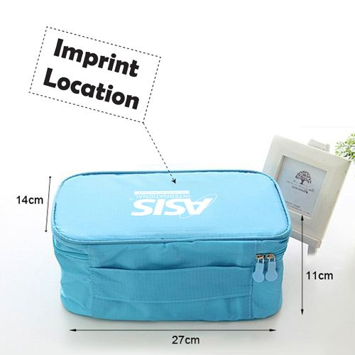 New Fashion Multifunction Travel Underwear Toiletry Bag Imprint Image
