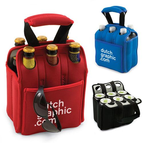 Insulated Beer Carrier Water Bottle Holder