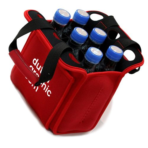 Insulated Beer Carrier Water Bottle Holder Image 2