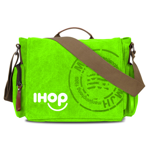 Canvas Business Crossbody Printing Travel Bag