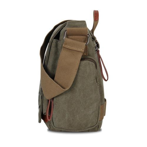 Canvas Business Crossbody Printing Travel Bag Image 2