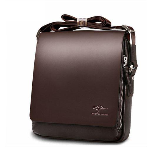 Genuine Leather Kangaroo Shoulder Bag