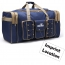 Folding Capacity Cowboy Men Travel Bags Imprint Image