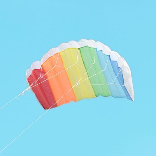 Parachute Dual Line Kite With Control Bar