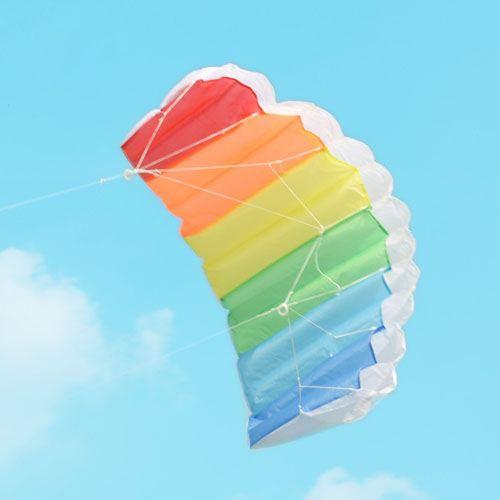 Parachute Dual Line Kite With Control Bar Image 2