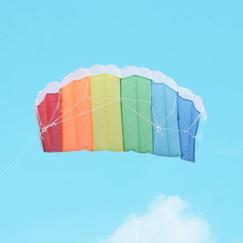 Parachute Dual Line Kite With Control Bar Image 3