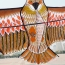 Golden Eagle Flying Kite with Handle Line Image 1