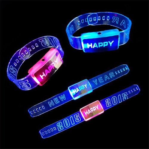 LED Glow Wrist Strap Bracelet Image 4