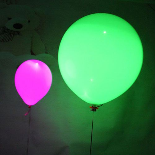 Flash LED Light Up Balloons Image 1