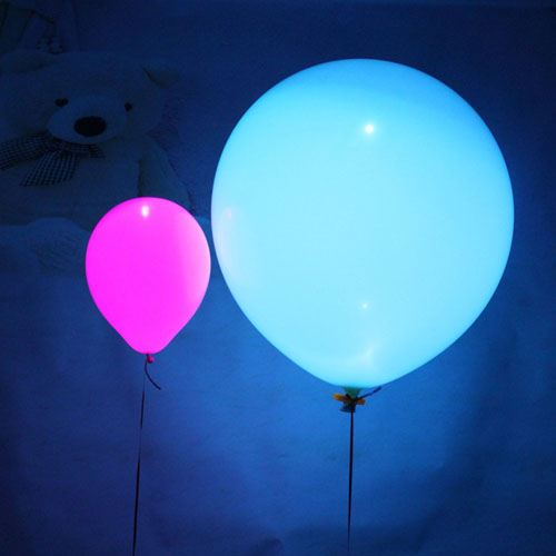 Flash LED Light Up Balloons Image 2