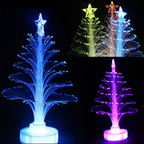 LED Light Fiber Optic Christmas Tree