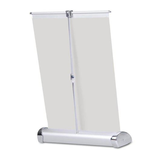 Mini Table Top 11x17 Inch Banner Stand Image 1