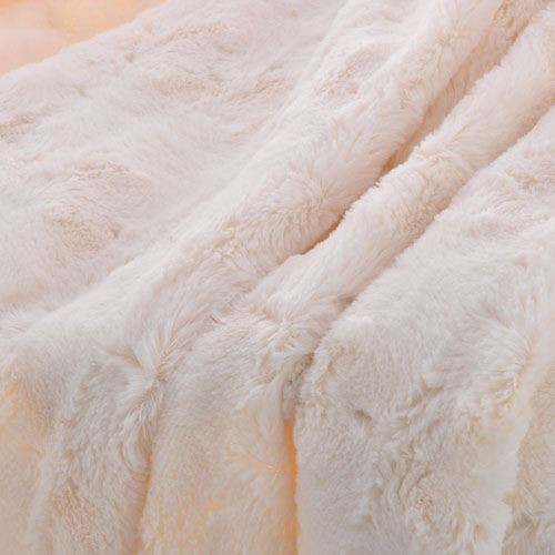 Baby Plush Faux Fur Throw Blanket Image 4