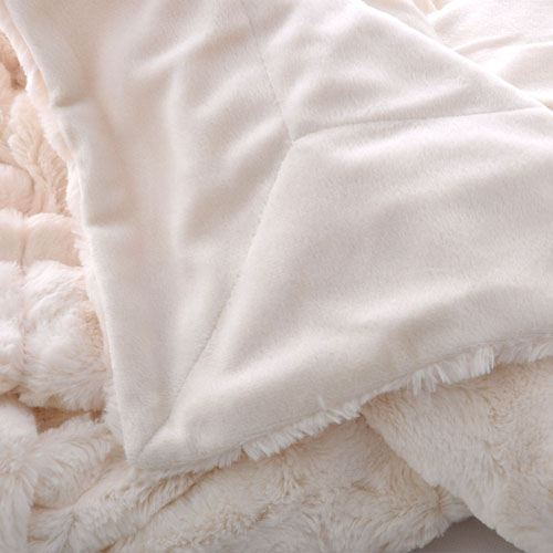 Baby Plush Faux Fur Throw Blanket Image 5