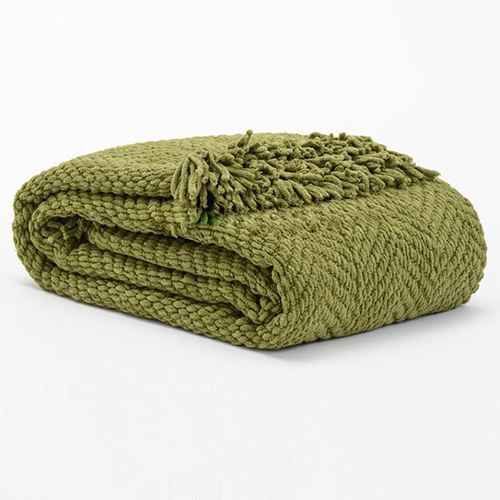 Fluffy Travel Big Heated Bed Sofa Blanket Image 1