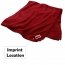 Outdoor Super Soft Chenille Blanket Imprint Image