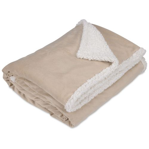 Finest Custom Promotional Sherpa Blanket Image 2