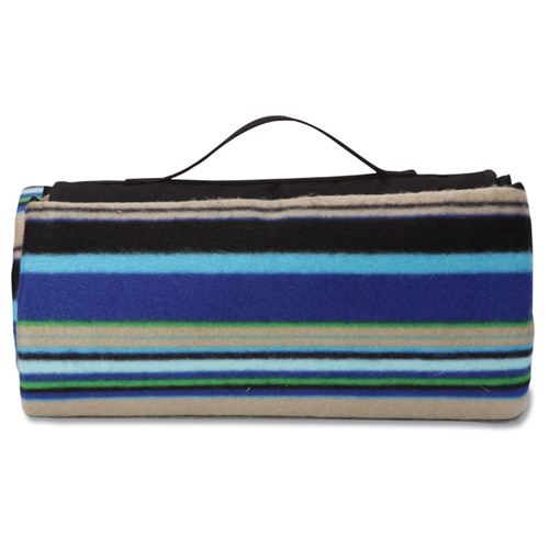 Mountain Stripe Picnic Stadium Blanket Image 1