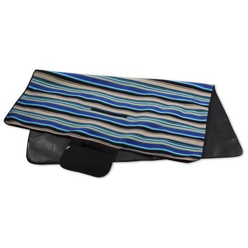 Mountain Stripe Picnic Stadium Blanket Image 2