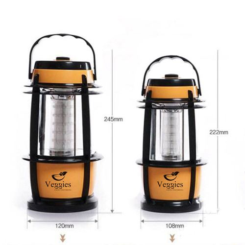 LED 16 Adjustable Lantern Camping Image 1