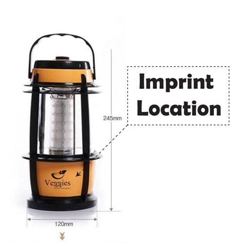 LED 16 Adjustable Lantern Camping Imprint Image