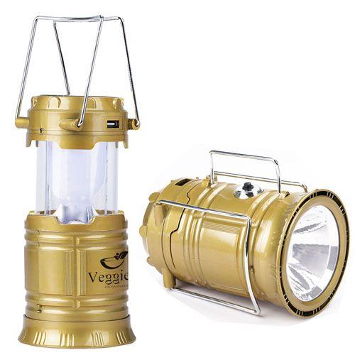 Solar Power 6 LED Camping Lantern Image 2