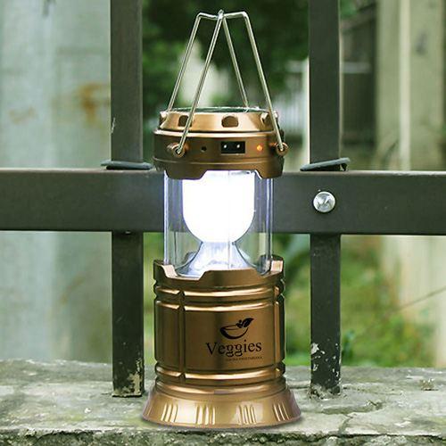 Solar Power 6 LED Camping Lantern Image 3