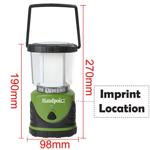 Ultra Bright LED Camping Area Lantern  Imprint Image