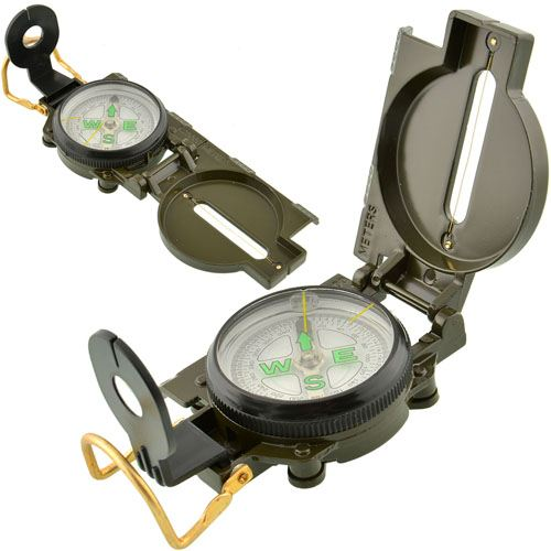 Multi-Functional Portable Folding Lens Compass
