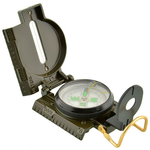 Multi-Functional Portable Folding Lens Compass Image 2