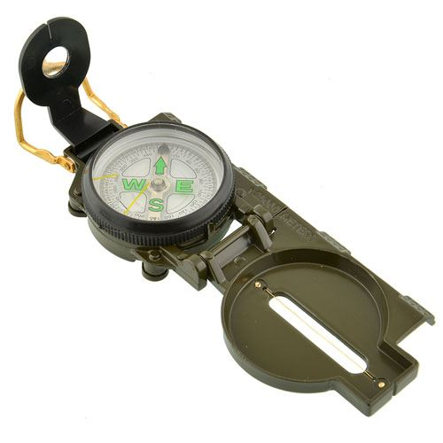 Multi-Functional Portable Folding Lens Compass Image 3