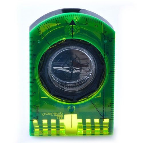 Folding Camping Mirror Compass Image 1