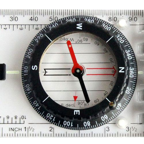 Multifunction Outdoor Compass Scale Image 5