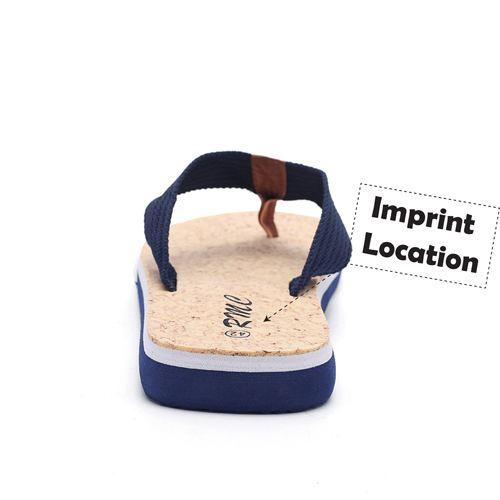 Beach Man Flat Flip Flop Imprint Image