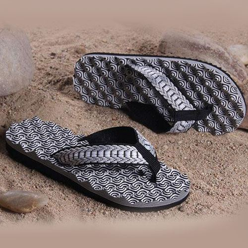 Beach Massage Slippers Flip Flops Image 4
