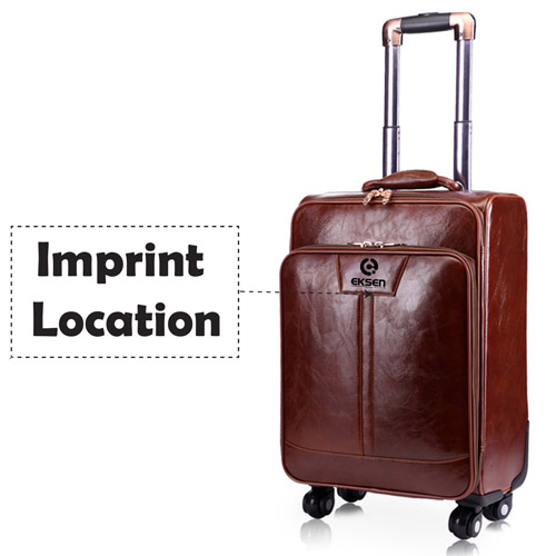 Trolley Luggage Traveling 16 Inch Suitcase  Imprint Image