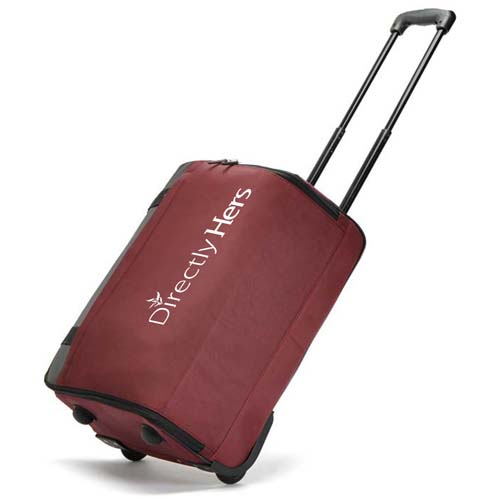 Oxford Luggage Travel Wheels Trolley Bag