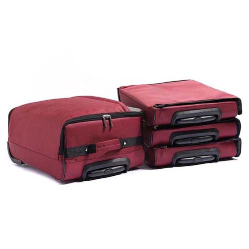 Oxford Luggage Travel Wheels Trolley Bag Image 5