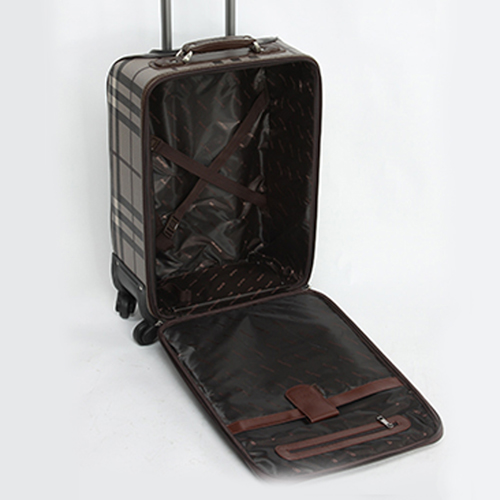 Vintage Rolling Luggage On Wheels Image 3